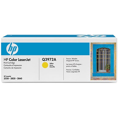 Q3972A Toner Cartridge - HP Genuine OEM  (Yellow)